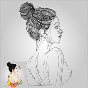 ออกแบบโลโก้ ผู้หญิง